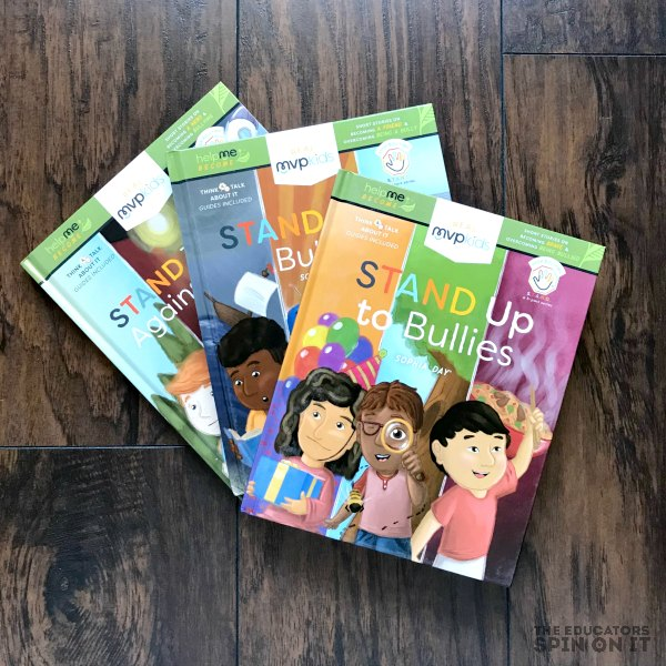 STAND Up to Bully Series from MVPKids Books