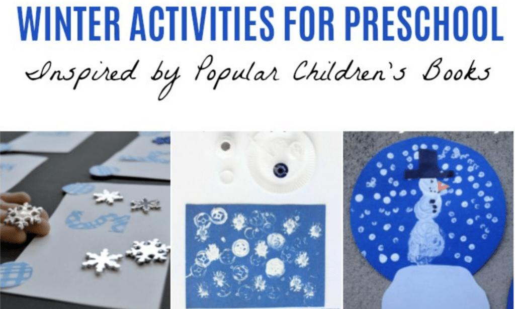 Winter Books and Activities for Preschoolers