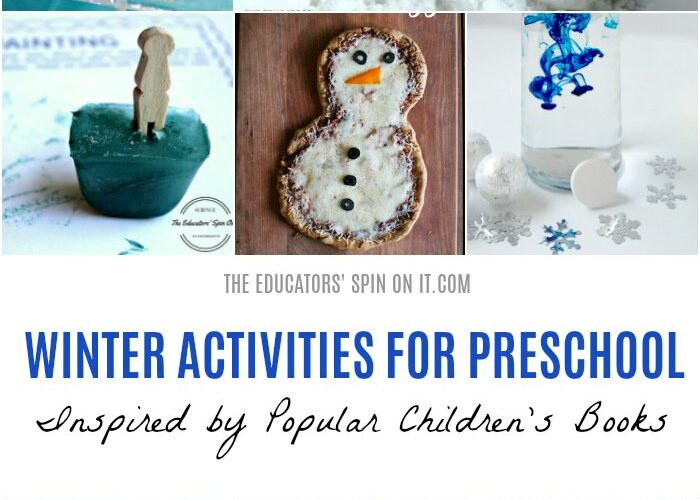 Winter Activities for Preschool inspired by Children's Books