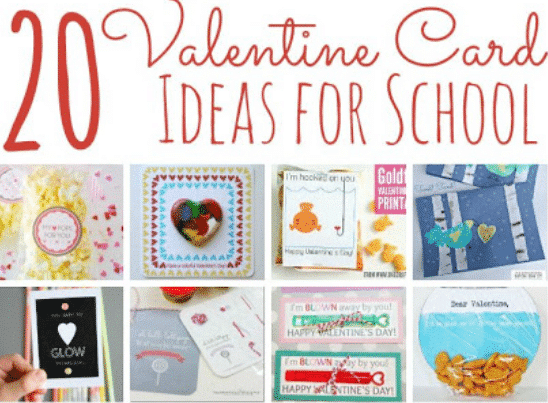 20 DIY Valentines Day Cards for Classsmates