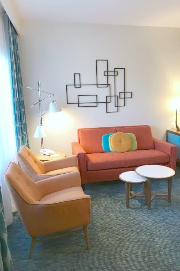 Cabana Bay Beach Resort Family Suite Living Room