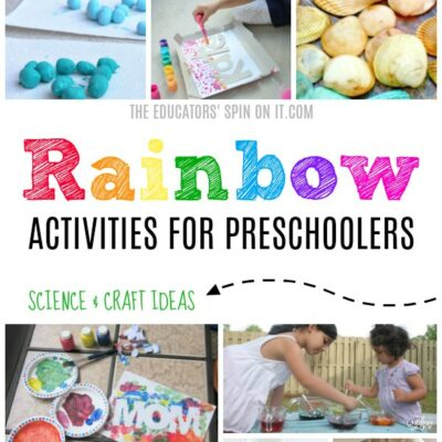 Rainbow Activities for Preschoolers