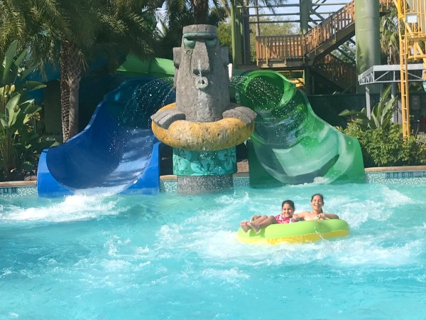 Water Slide at Volcano Bay at Universal Studios Resort in Orlando