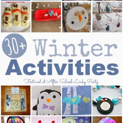 Winter Activities for School Ages
