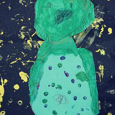 Nighttime Preschool Activities: Night Owl Painting and Books