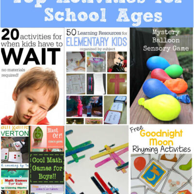 Top Activities for School Ages Week 30