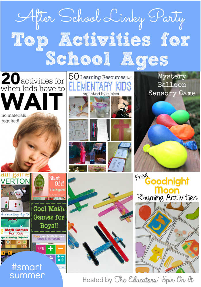 Top Activities for School Ages