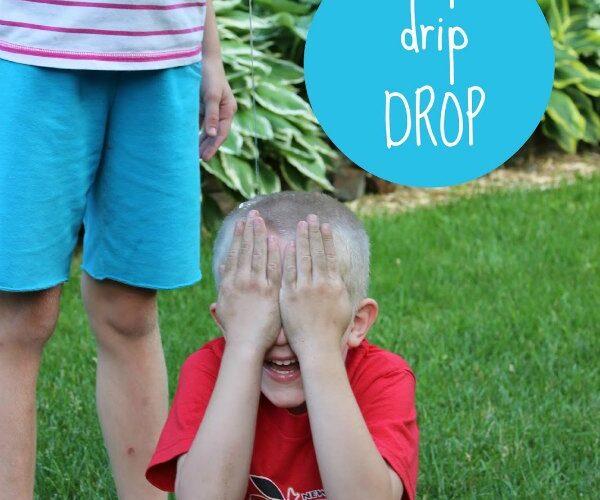 Drip drip drop outdoor water game