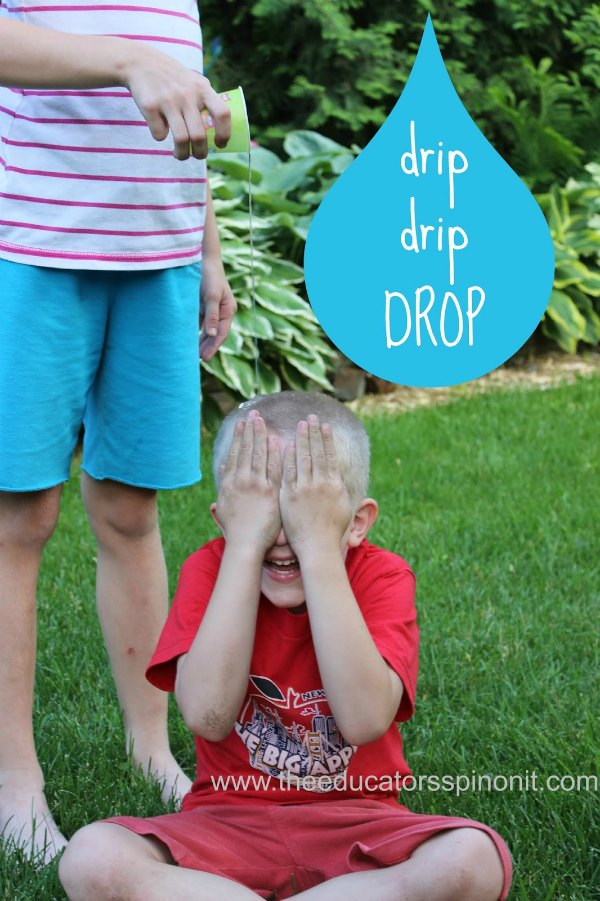 Drip drip drop outdoor water game