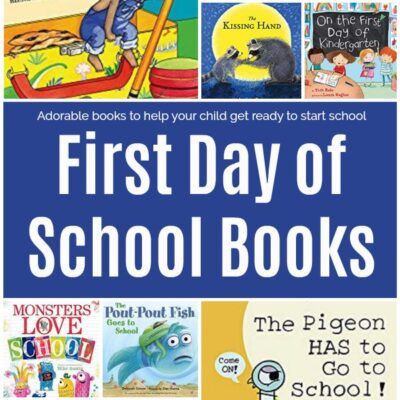 16 Adorable First Day of School Books