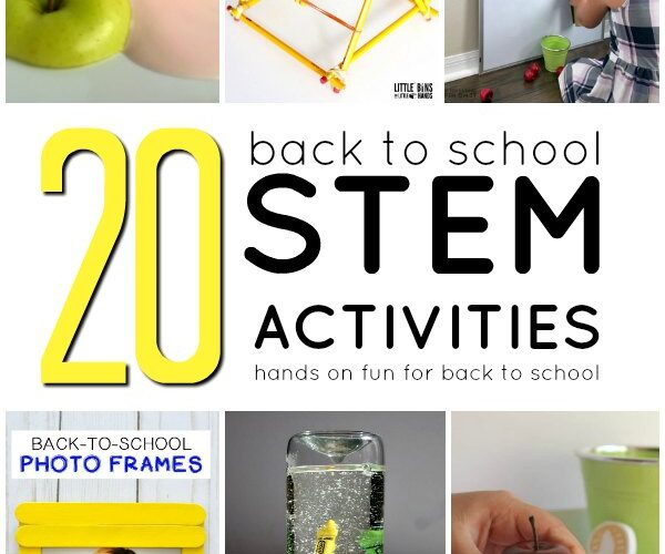 back to school themed stem activities for kids