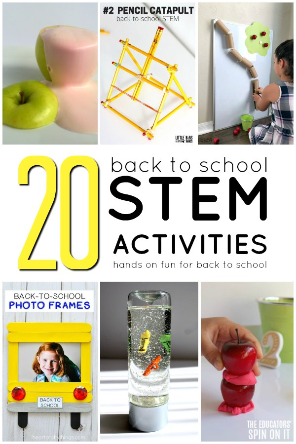 Back to School STEM Activities - The Educators' Spin On It