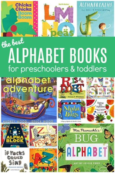 featured books about the alphabet for preschoolers