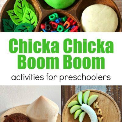 35+ Chicka Chicka Boom Boom Activities