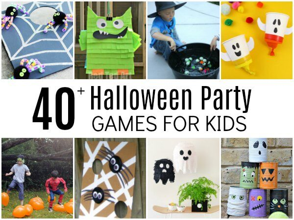40+ Best Halloween Party Games for Kids