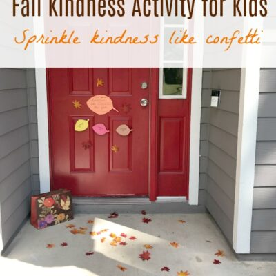 Random Acts of Kindness for Fall