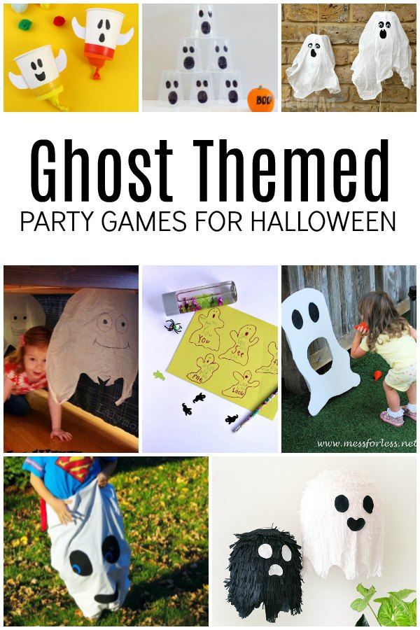 Ghost Themed Party Games for Halloween with Kids