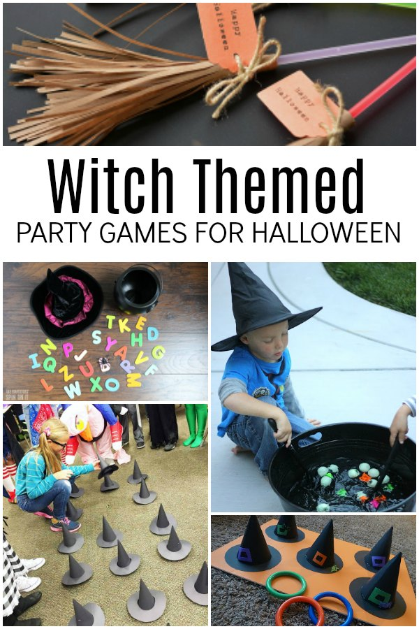 Witch Themes Halloween Party Games for Kids