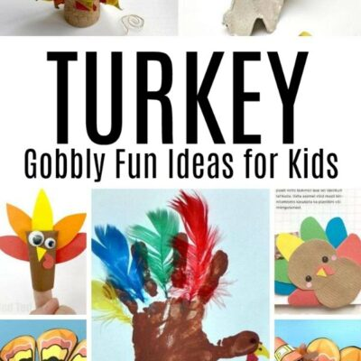 Gobbly Fun Turkey Craft Ideas for Kids to Make