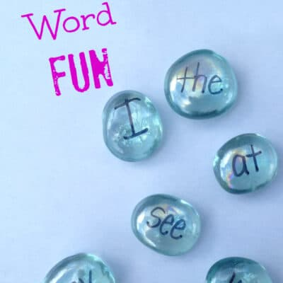 Sight Words and Alphabet Fun with Gems