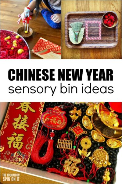Collection of Chinese New Year Sensory Bin Ideas