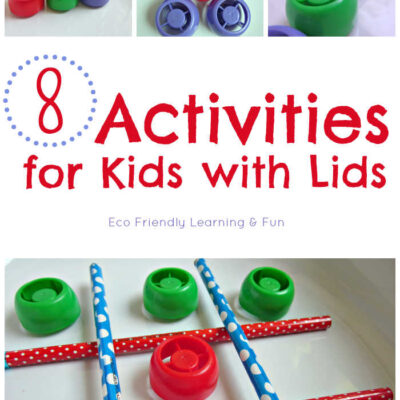 8 Activities for Kids with Lids