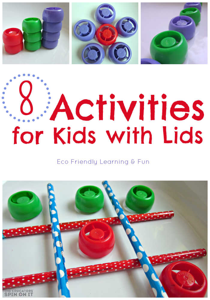 8 Activities for Kids with Lids!