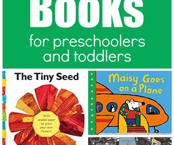 Featured book covers for March Books for Preschoolers