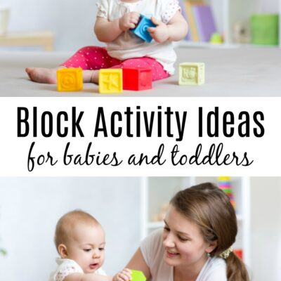 Make your Own Blocks for Baby and Toddlers