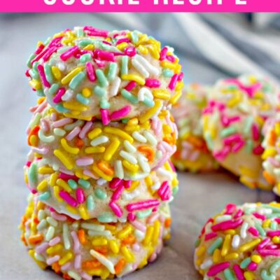 Cream Cheese Sprinkle Cookies Recipe