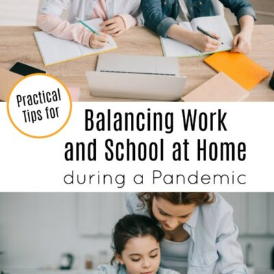 Balancing Work and School at Home During a Pandemic