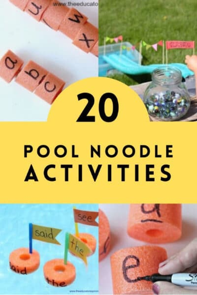 20 Pool Noodle Activities for Kids