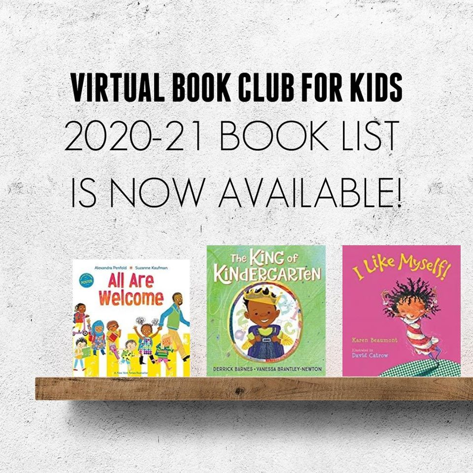 Virtual Book Club for Kids 2020-21
