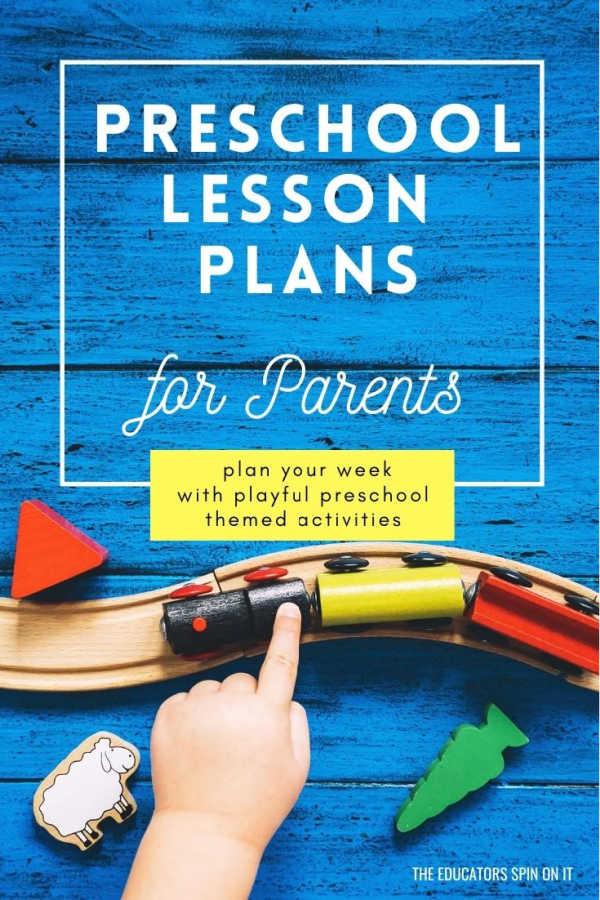 Preschool Lesson Plans for Parents