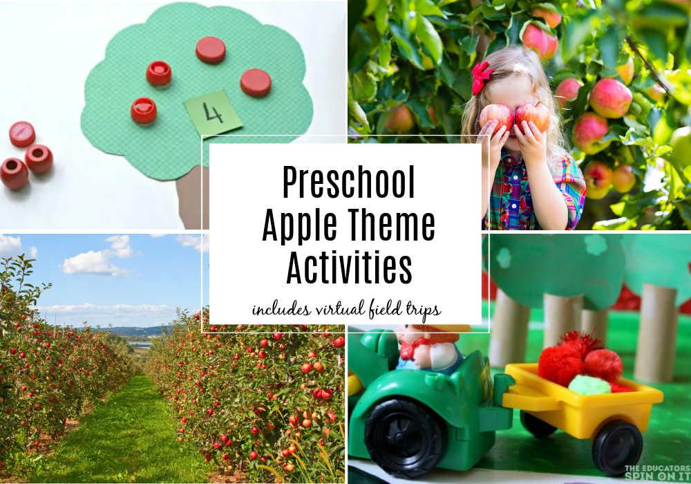 Preschool Apple Themed Activities