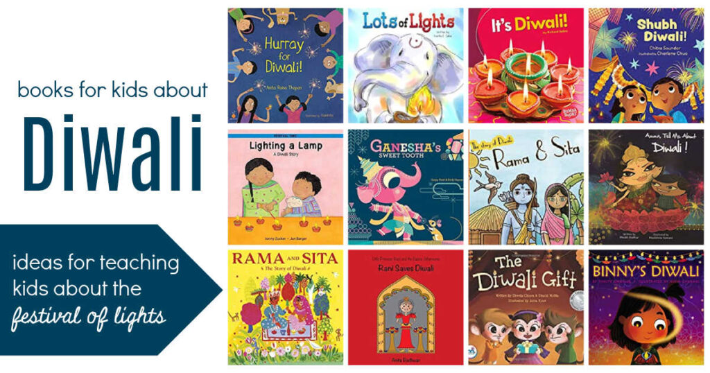 Books about Diwali for kids