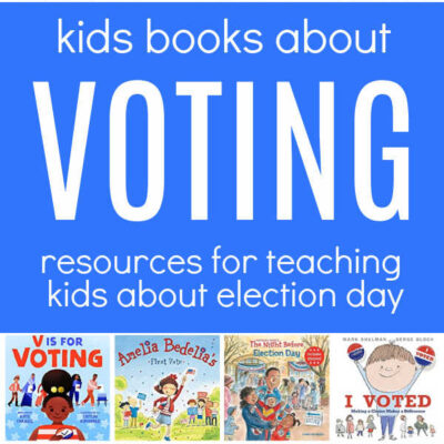 GO VOTE! Resources for Teaching Kids About Election Day