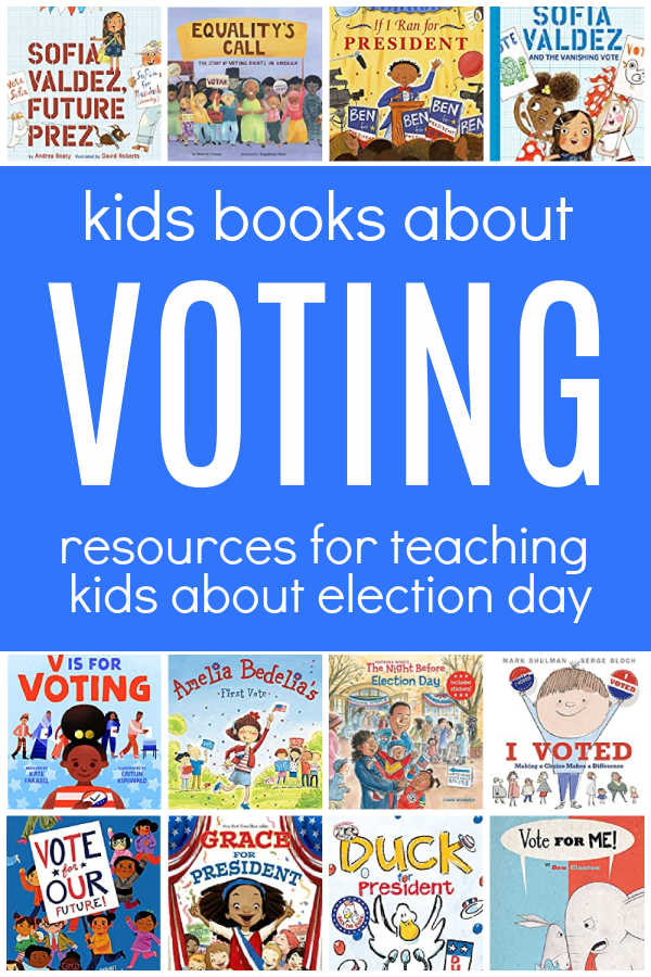 books about voting for kids