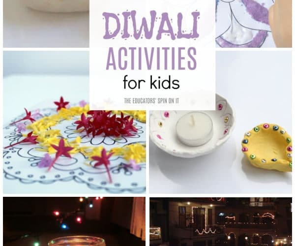 Diwali Activities for Kids with Rangolis, Diyas, Books and more