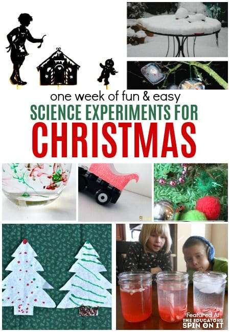 7 fun and easy science experiments for christmas for kids