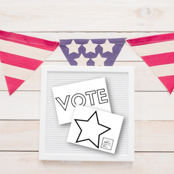 Star Citizen Printable for Learning About Voting Day