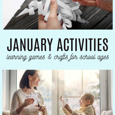 Planning January Activities and Games for After School