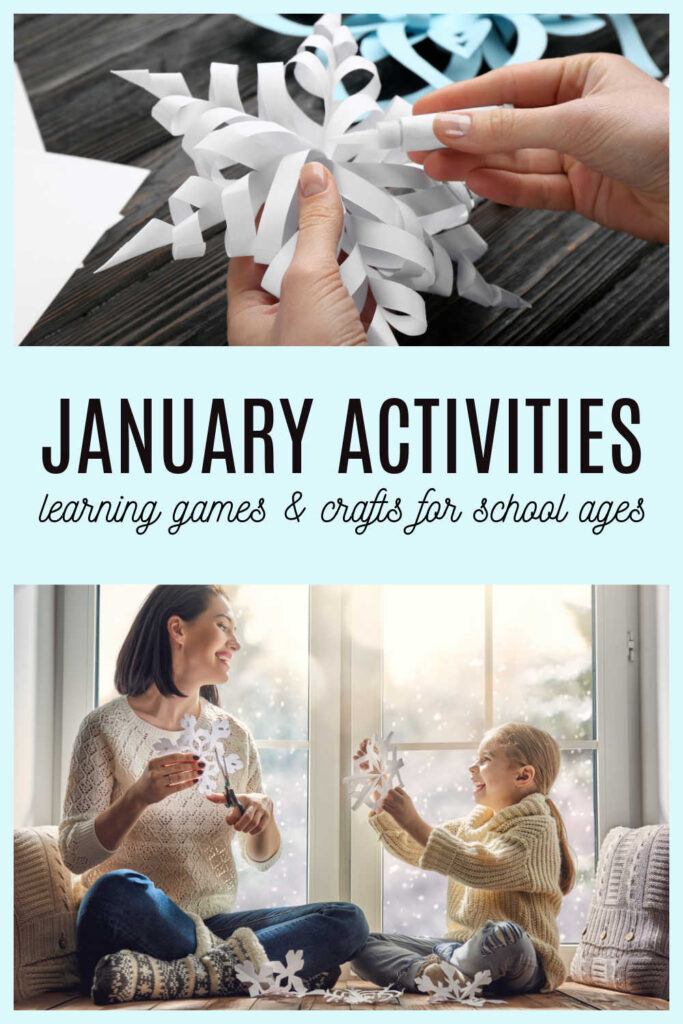 january activities for school ages