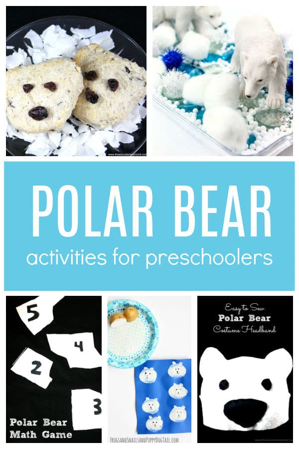 Polar bear activities for preschoolers