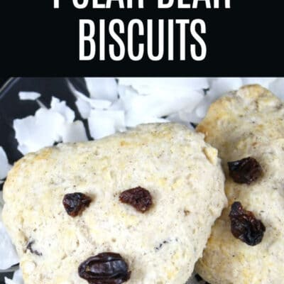 Polar Bear Biscuits Recipe for Kids