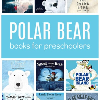Polar Bear Books and Activities for Preschoolers