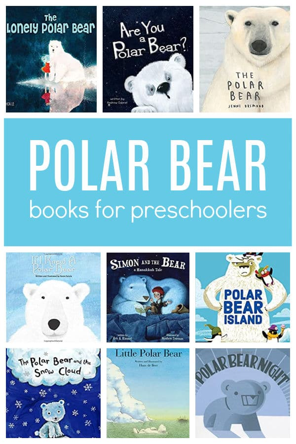 Polar Bear Books for Preschoolers