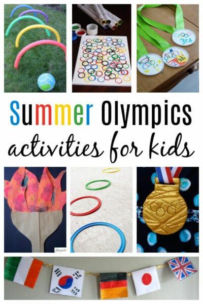 summer Olympics activities for kids