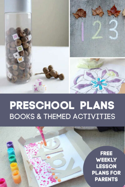 preschool book club with weekly plans for parents