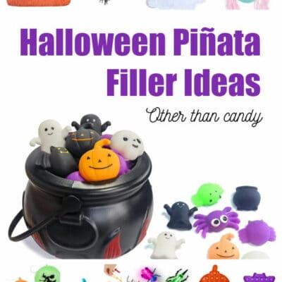 Halloween Piñata Filler Ideas That are Non-Candy